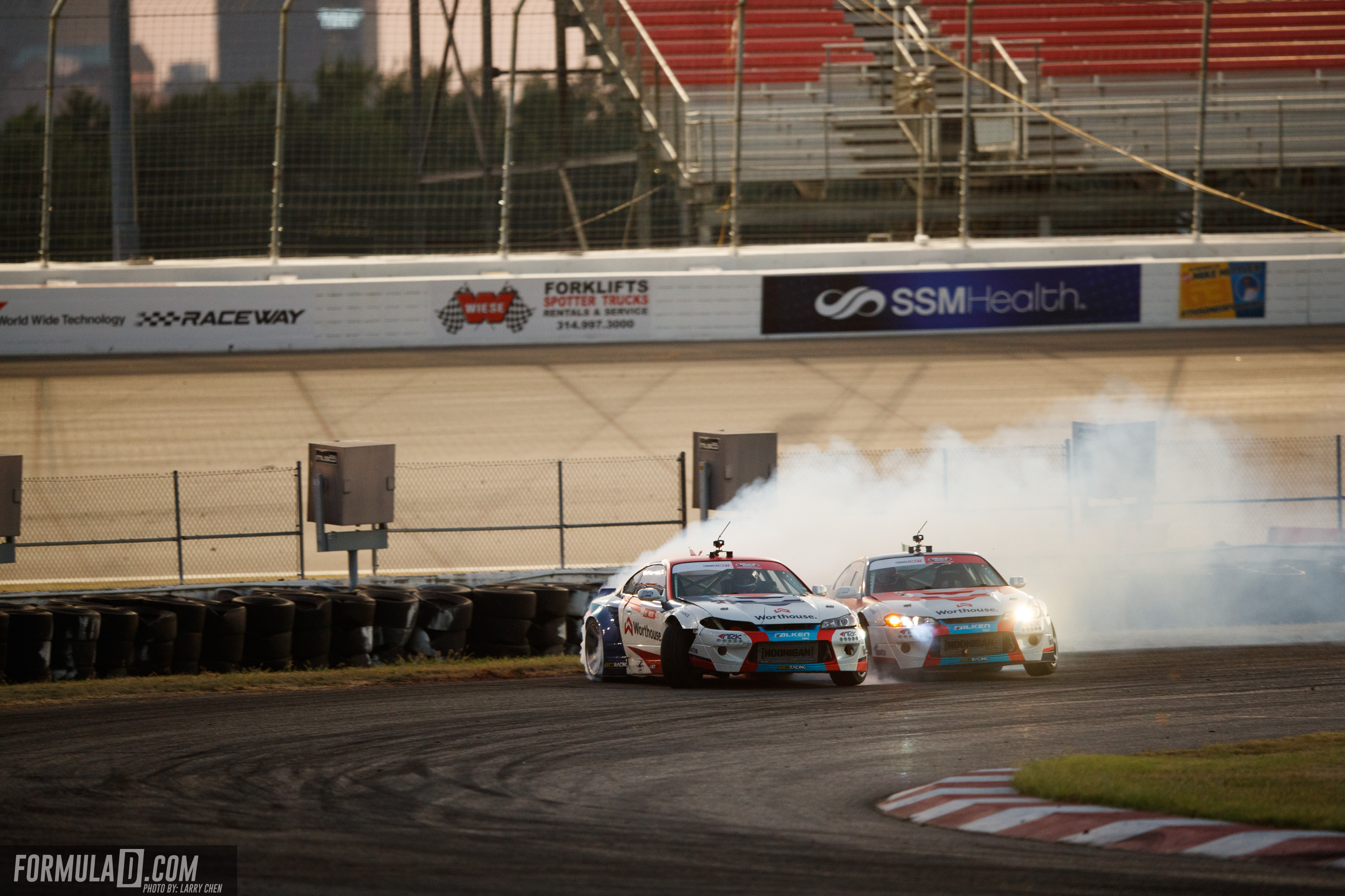 James Deane Wins Exciting Formula Drift St  Louis Round on